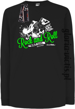 Rock and Roll Bike Ride EST 1765 - Longsleeve dziecięcy