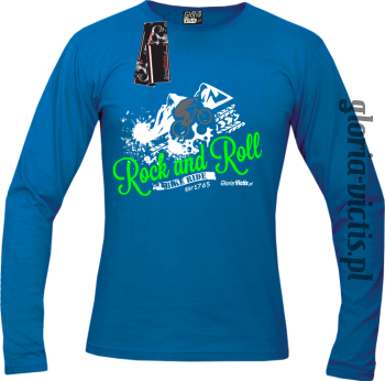 Rock and Roll Bike Ride EST 1765 - Longsleeve męski