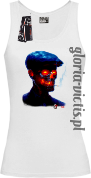 Fire Skull Smoking Gloria - Top damski